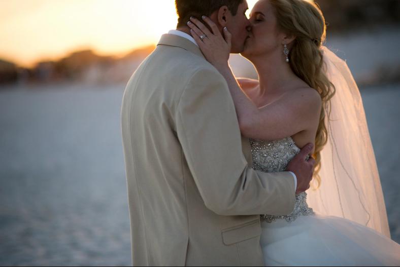 The Hilton Pensacola Beach Florida Wedding