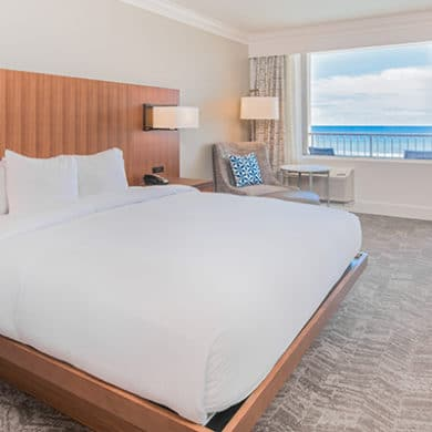 King Bed With Balcony Gulfview