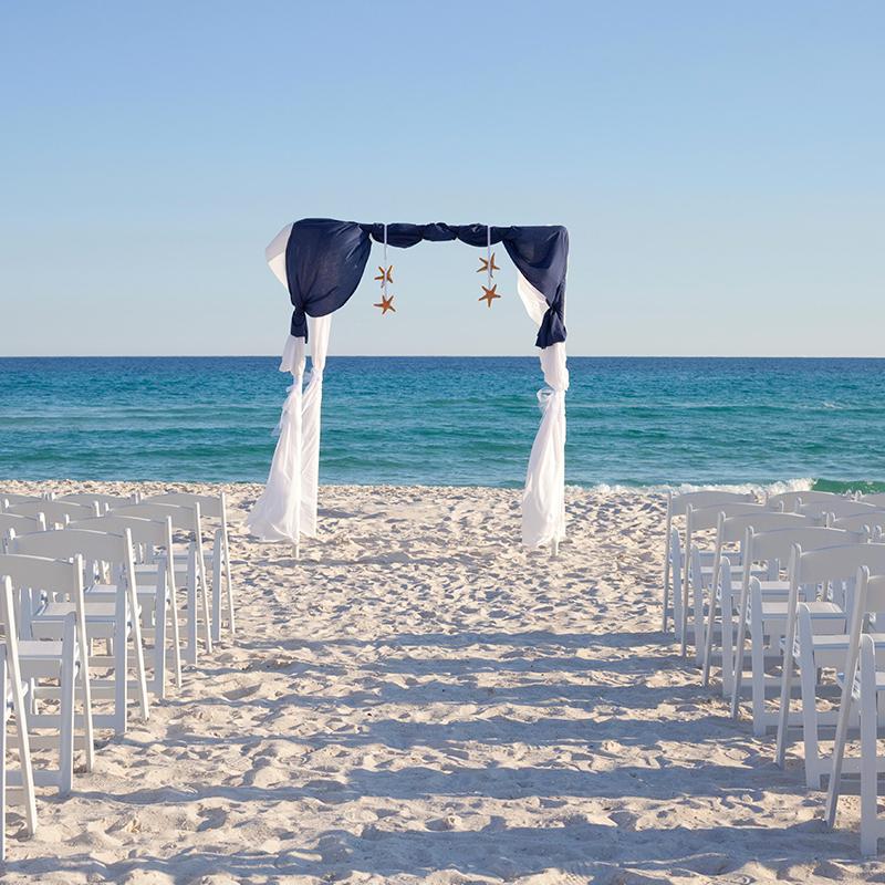 Hilton Hotel Pensacola Beach Wedding Ceremony Venues