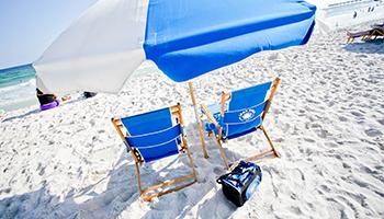 Hilton Pensacola Beach FL Sit and Sip Feature