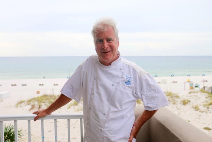 Chef Dan Dunn Hilton Pensacola Beach