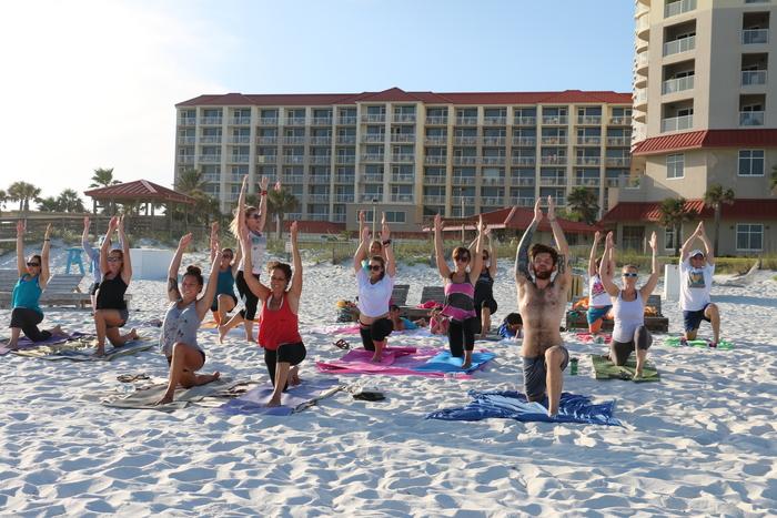 URU Yoga Pensacola Beach FL